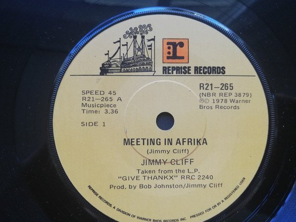 Jimmy Cliff - Meeting In Afrika / She Is A Woman