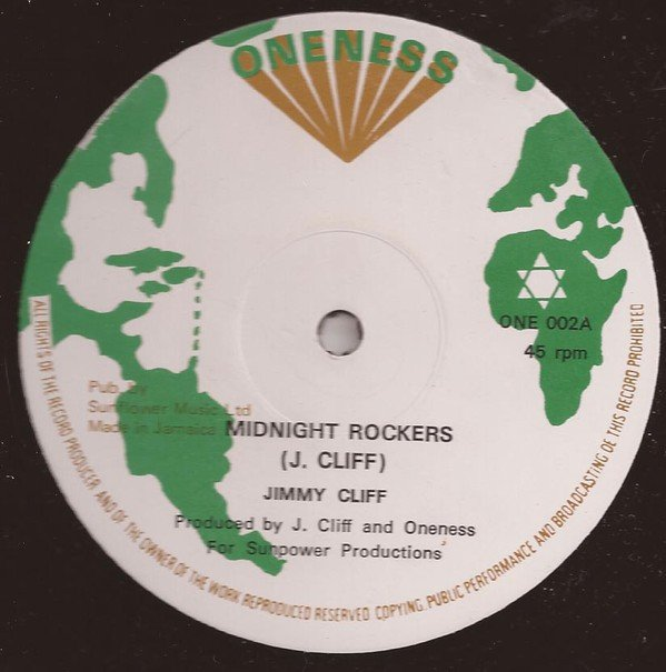 Jimmy Cliff - Midnight Rockers / True Lover