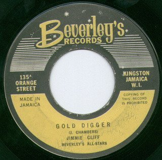 Jimmy Cliff - Miss Jamaica / Gold Digger