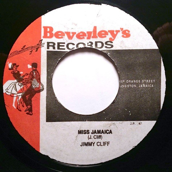 Jimmy Cliff - Miss Jamaica / Since Lately