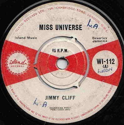 Jimmy Cliff - Miss Universe / The Prodigal