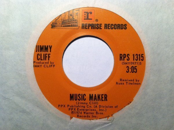 Jimmy Cliff - Music Maker