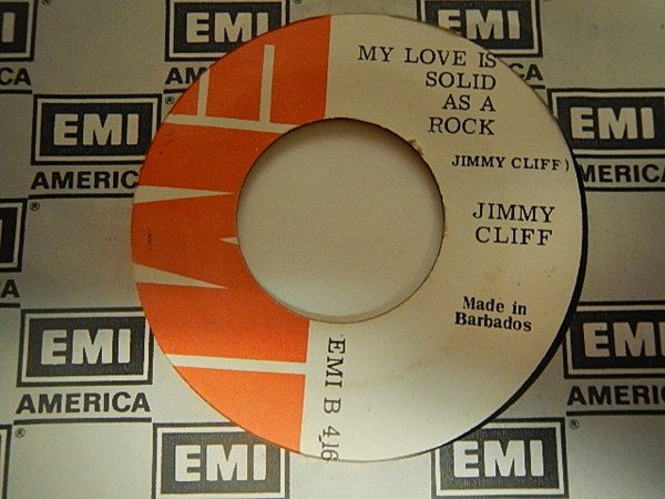 Jimmy Cliff - My Love Is Solid As A Rock / Money Won