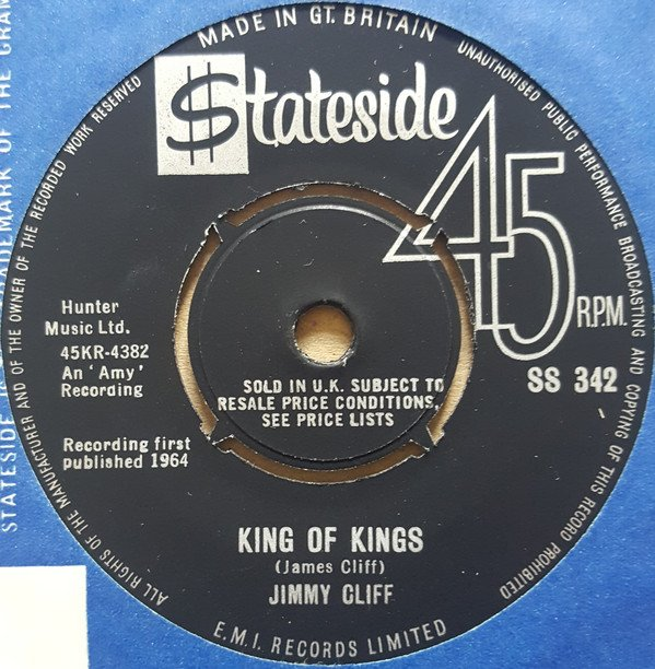 Jimmy Cliff - One-Eyed Jacks / King Of Kings