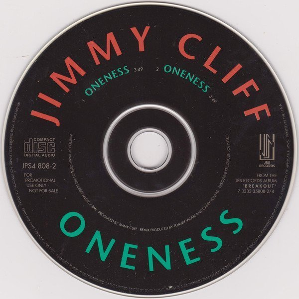 Jimmy Cliff - Oneness