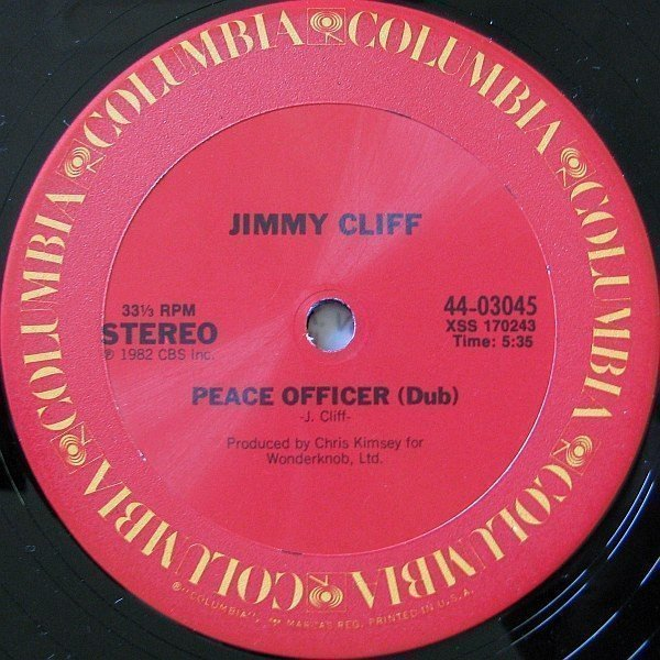 Jimmy Cliff - Peace Officer (Dub) / Special