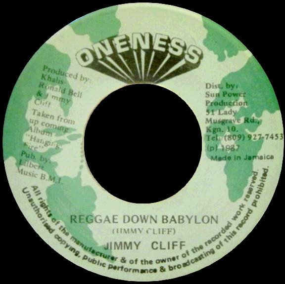 Jimmy Cliff - Reggae Down Babylon