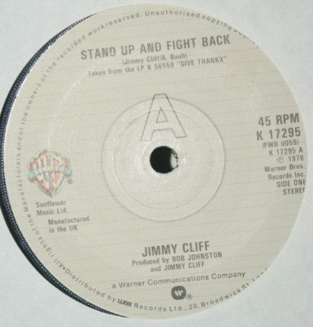 Jimmy Cliff - Stand Up And Fight Back