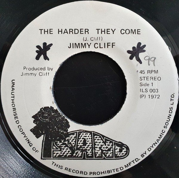 Jimmy Cliff - The Harder They Come / Many Rivers To Cross