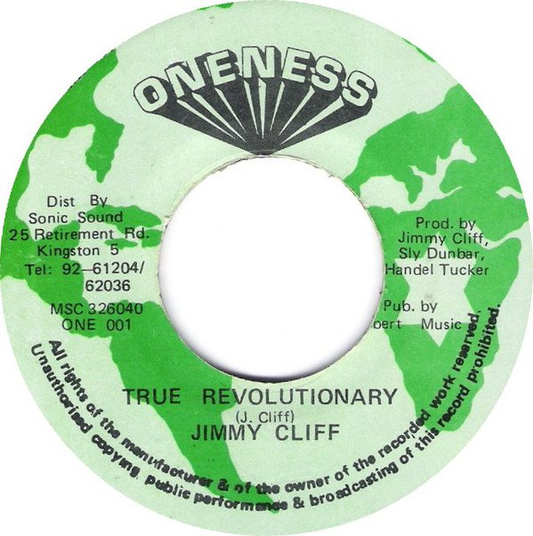 Jimmy Cliff - True Revolutionary