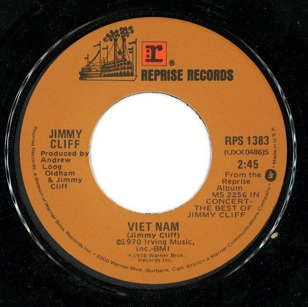 Jimmy Cliff - Viet Nam / The Harder They Come