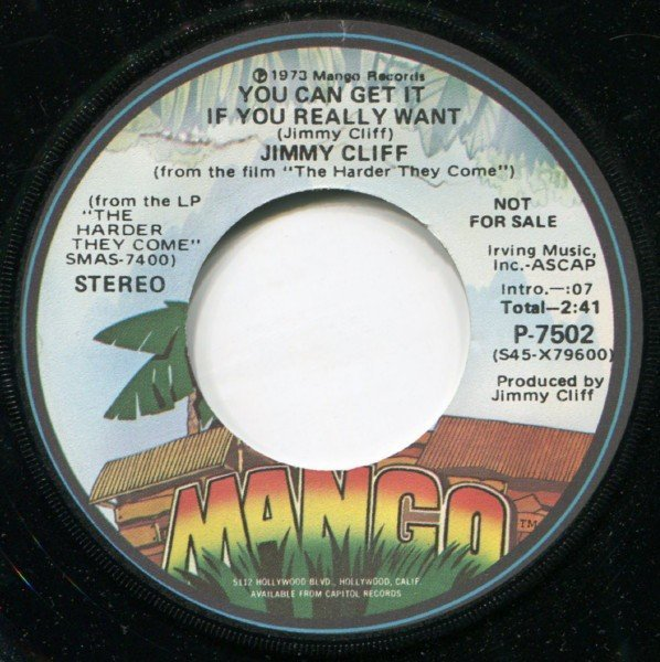 Jimmy Cliff - You Can Get It If You Really Want / Sweet & Dandy