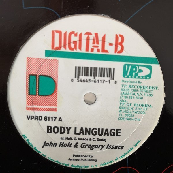 John Holt - Body Language / Lonely Is The Night