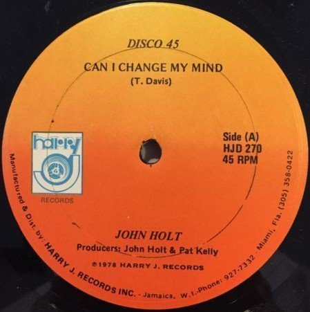 John Holt - Can I Change My Mind / Rain From the Sky