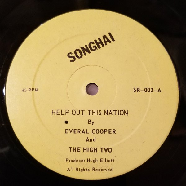 John Holt - Help Out This Nation  / Stick By Me