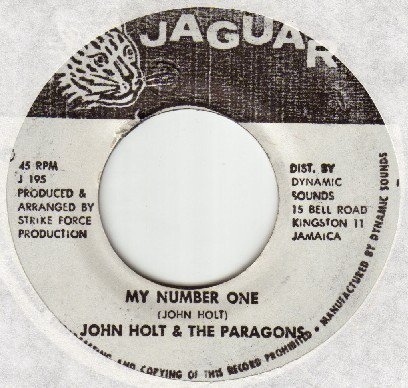 John Holt - My Number One
