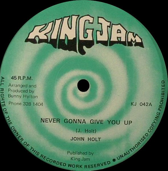 John Holt - Never Gonna Give You Up / Going Steady