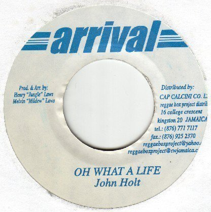 John Holt - Oh What A Life