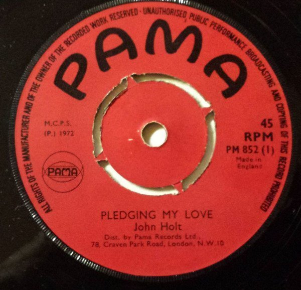 John Holt - Pledging My Love / I Will Know What To Do