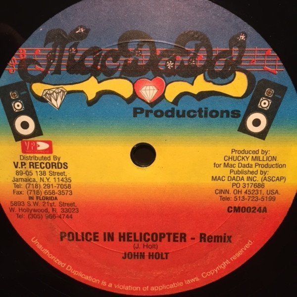 John Holt - Police In Helicopter - Remix / Get Myself In Line