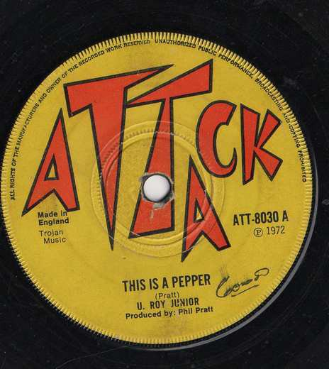 John Holt - This is A Pepper / Justice