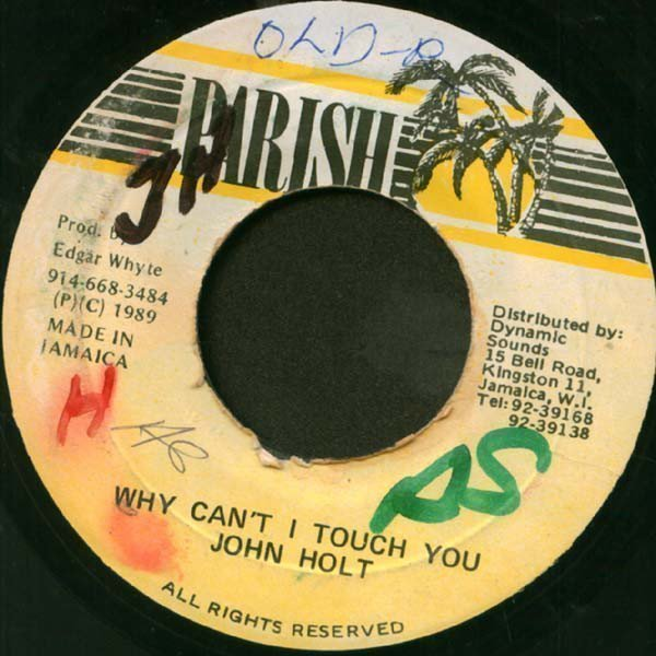 John Holt - Why Can