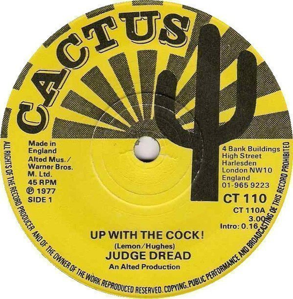 Judge Dread - Up With The Cock