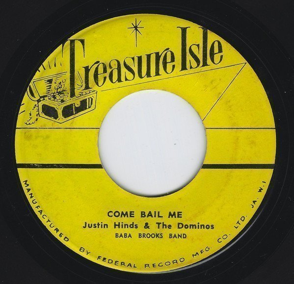 Justin Hines And The Dominoes - Come Bail Me / Stampede