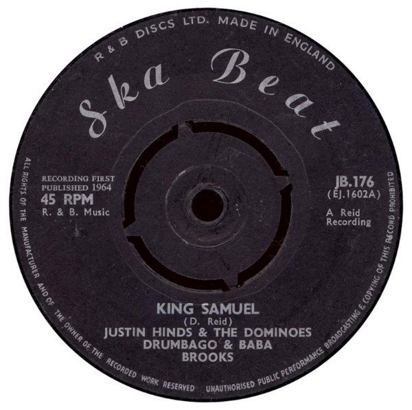 Justin Hines And The Dominoes - King Samuel