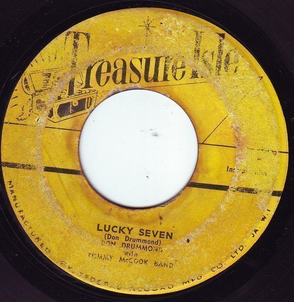 Justin Hines And The Dominoes - Lucky Seven / Never Too Young