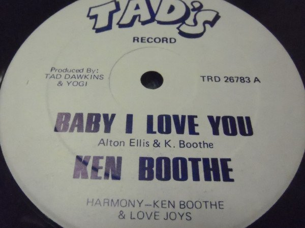 Ken Boothe - Baby I Love You
