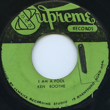 Ken Boothe - Crying Over You / I Am A Fool