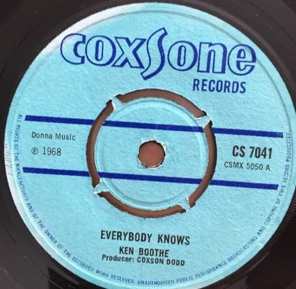Ken Boothe - Everybody Knows