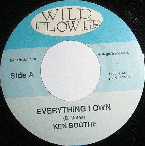Ken Boothe - Everything I Own / Silver Words