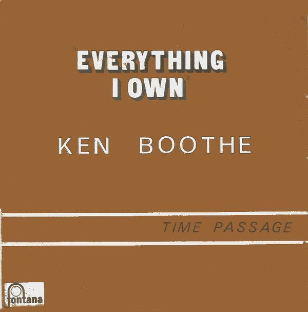 Ken Boothe - Everything I Own / Time Passage