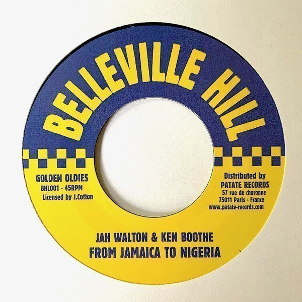 Ken Boothe - From Jamaica To Nigeria