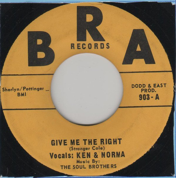 Ken Boothe - Give Me The Right / I Don
