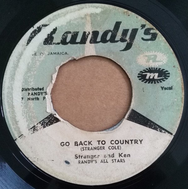 Ken Boothe - Go Back To Country / Revelation
