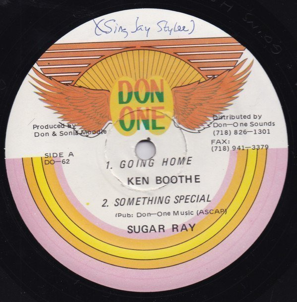 Ken Boothe - Going Home, Something Special