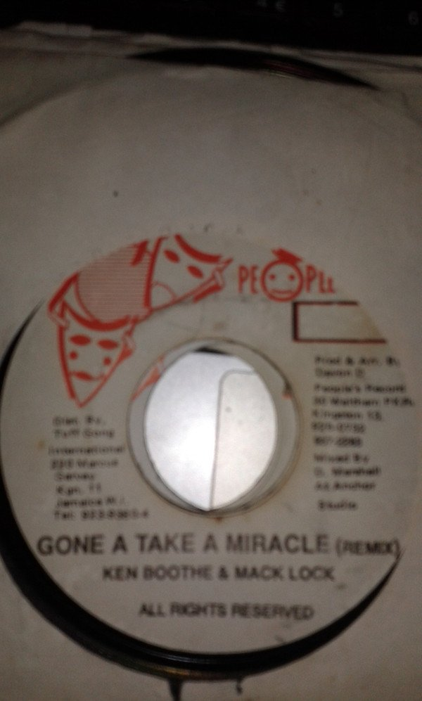 Ken Boothe - Gone A Take A Miracle(remix)