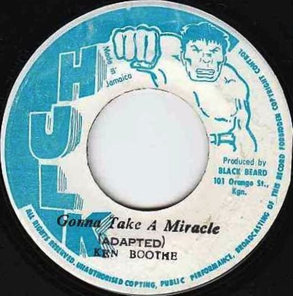 Ken Boothe - Gonna Take A Miracle