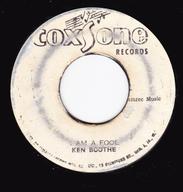 Ken Boothe - I Am A Fool / Riding For A Fall