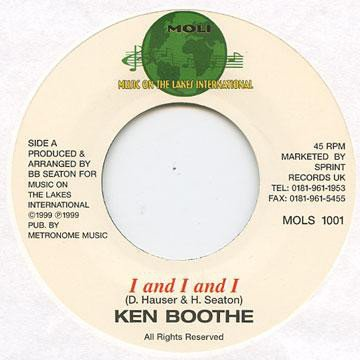 Ken Boothe - I And I And I