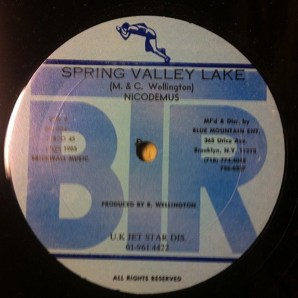 Ken Boothe - I Will / Spring Valley Lake
