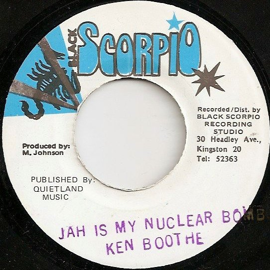 Ken Boothe - Jah Is My Nuclear Bomb