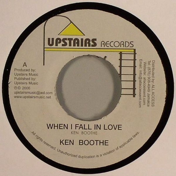 Ken Boothe - Just Another Girl / Black And Simple