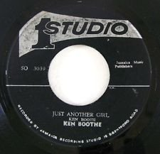 Ken Boothe - Just Another Girl / Fooling You