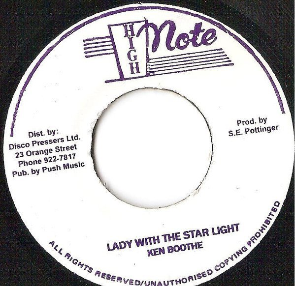 Ken Boothe - Lady With The Starlight / Island In The Sun