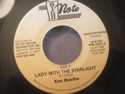 Ken Boothe - Lady With The Starlight / Over The Rainbows End