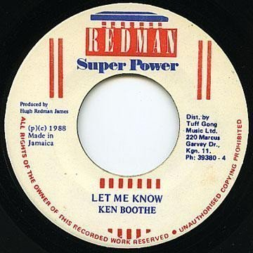 Ken Boothe - Let Me Know